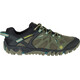 Merrell All Out Blaze Aero Sport Sko Herrer sort/oliven